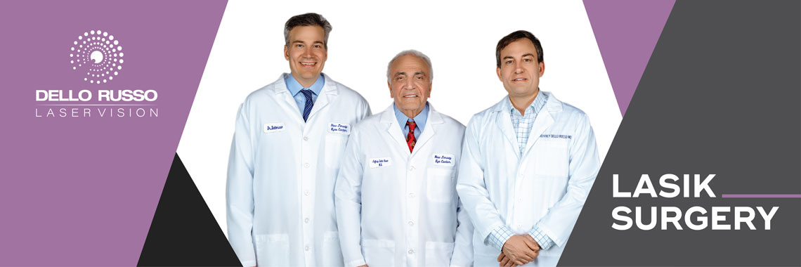 Laser vision correction center specializes in LASIK eye surgery in new jersey