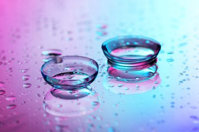 A pair of contact lenses, MAIN Fashion Optical in bergenfield and Passaic